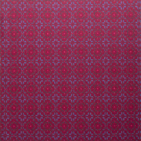 Vintage Rose Upholstery fabric 150cm Red Berry