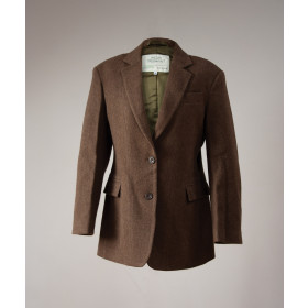 Metro Hacking jacket Walnut