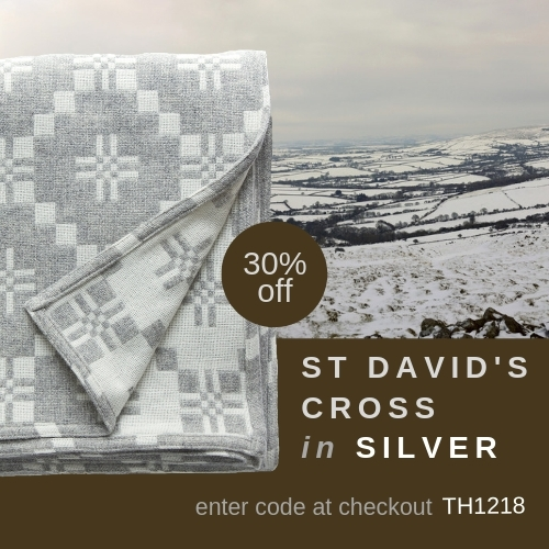 St Davids Cross Silver