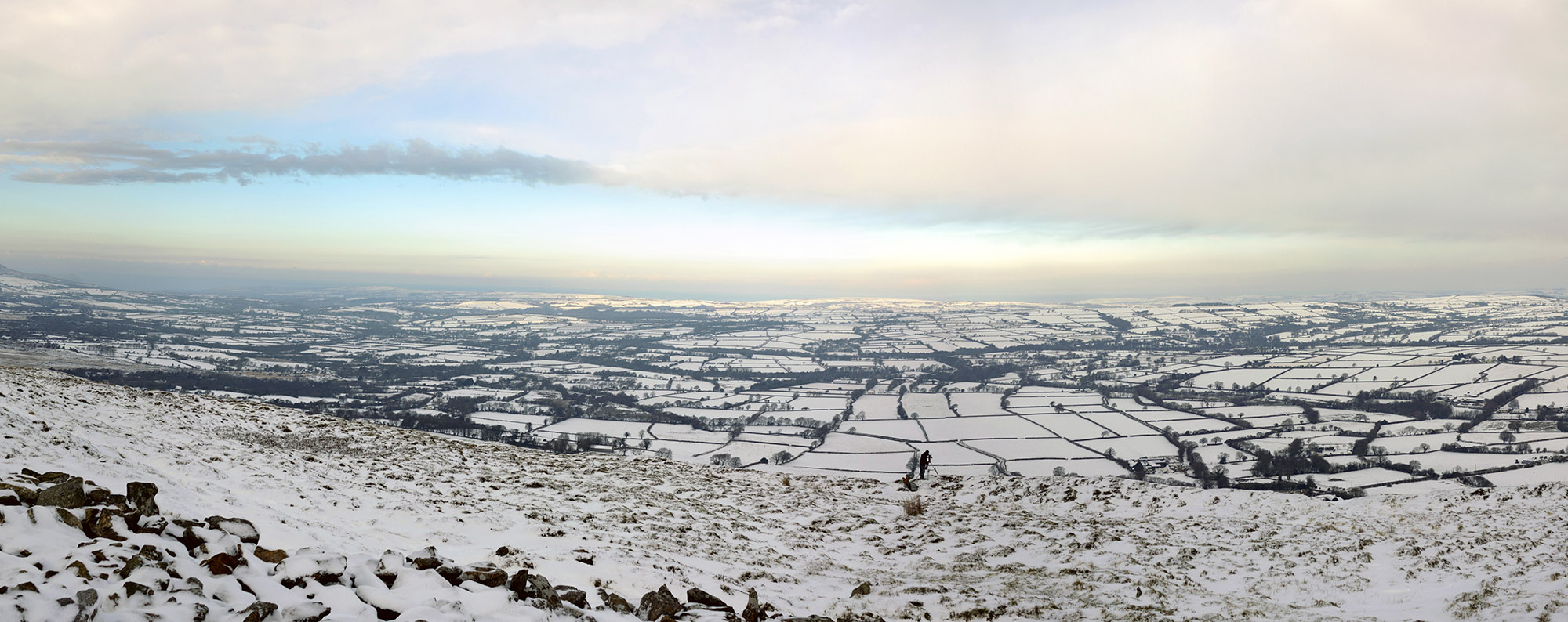 Preseli mountains in the winter