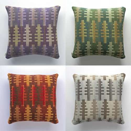 Forest cushions in 4 seasons