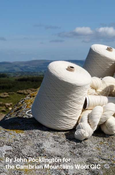 Melin Tregwynt's Cambrian Mountains Wool collection